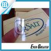 Custom Transparent Stickers Printing Black Clear Text Label