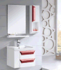 Modern PVC Bathroom Cabinet with Mirror (LZ-047)