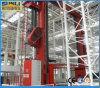 High Density Warehouse Automatic Storage System with Shelving Rack (AS/RS)