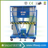 Aluminium Mast Climbing Aerial Work Platform Lift Table
