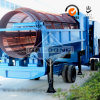 Gold Placer Processing Equipment Trommel with Carpet Sluice Box