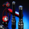 Lumifire High Power 100%/30%/Flash 3 Modes Fluorescent Ring Aluminum Torch