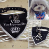 Customized Logo Triangle Wholesale Dog Bandana for Promotional Gift