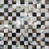 Freshwater Shell and Black Lip Mop Shell 15*15 Mosaic Tile