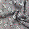 Azo Free Printing Rabbit Woven Scarf for Lady Fashion Accessory