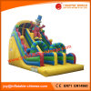 2017 Popular Inflatable Double Lane Clown Slide for Kids (T4-214)