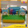 Green Children Inflatable Bouncer with Beautiful Painting (AQ02150)