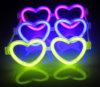 Fancy Dress Party Supplies Love Heart Glow Eyeglasses