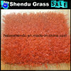 Red Artificial Grass Carpet for Kindergarten 30mm