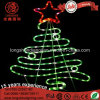 LED Star IP65 Decorative Street Rope Motif Christmas Tree Light for Outdoor Light Decoration