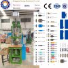 Manual System Chinese Factory Vertical Plastic Injection Molding Machines