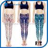 Fashionable Women Yoga Leggings Scale Printed Sports Pants