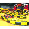Inflatable Racing Track Sports Game for Bumper Cars Zorb Ball Racing Track