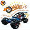 Plastic Pull Back off-Road Blocks Toy for Kids