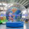 Christmas Clear Inflatable Dome Tent for Advertising/Inflatable Snow Globe for Christmas Decoration Tent