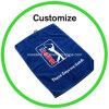 Custom Logo Softextile Microfiber Golf Towel