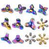 Hot Selling Toy Colorful Rainbow Fidget Relieve Stress Finger Spinner