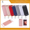3 in 1 Electroplating Mobile Cases for Huawei P10 Hybrid Armor Rubber Oil Brush Phone Cases for Huawei P10