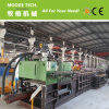 Plastic horizontal waste straw baler/compactor machine