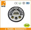 Manufacturer 70W 7 Inch Round LED Headlight 12V 24V for Jeep Wrangler