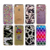 Electroplating Bumper Clear TPU Phone Cover for iPhone 7&7plus