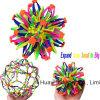 Mini Expanding Sphere Ball Plastic Kids Toy Rainbow Color