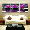 Drop Shipping 3 Piece Hot Sell Modern Flowers Painting Home Decorative Wall Art Picture Painted on Canvas Home Prints Mc-179