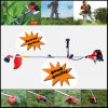 Gasoline CE Approved 52cc Heavy Duty Petrol Strimmer Grass Cutter