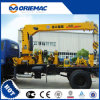 6 Ton Truck Mounted Crane with 3 Section Boom