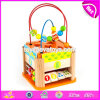 New Design Funny Activity Cube Wooden Kids Educational Toys W11b145