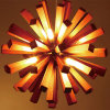 Vintage Wooden Round Chandelier Lighting for Hotel
