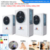 Poland /Hungary -25c Cold Winter Radiator 100~350sq Meter House +Dhw 12kw/19kw/35kw Auto-Defrsot Evi Heat Pump Air to Water