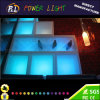 Bar Furniture Plastic RGB Color Changing LED Rectangular Ice Bucket