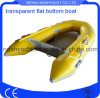 Transparent Hull Inflatable Boat Size 200-330cm