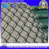 PVC Coated Iron Wire Mesh Chain Link Fence for Protection