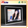 Table-Top LED Home Decoration Acrylic Crystal Picture/ Photo Frame (CST01-A4L-02)