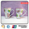 Pink Color Ceramic Mug with Handle for Milk/Coffee