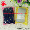 2016 Customized Printed Cloth Socks Ziplock Plastic Resealable Bags for Female/Men′s Sock
