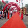 Red Plain Exhibition Floor Carpet