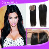 Swiss Lace Cambodian Hair Silk Top Lace Hair Closure (LC-021)