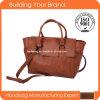 2015 China Manufacturer Vintage Trendy Fashion Women′s PU Handbag