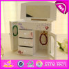 2016 Brand New Wooden Jewellery Box, Mirror Wooden Jewellery Box, Musical Jewellery Wooden Box W09e013A