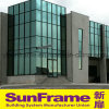 Aluminium Curtain Wall System with Glasses