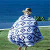 Cotton Round Beach Towel Beach Blanket with Top-Quality
