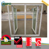 Energy Efficient Double Glazing Plastic Frame Casement Window