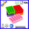 15 Cavities Silicone Rubber Ice Cube Mold
