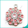 Pink Crystal Flower Shape Pendant Wholesale (MPE)