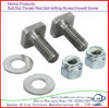 Galvanized Carbon Steel M14-M24 Square-Head Bolt