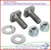 Galvanized Carbon Steel M14-M24 Square-Head Bolt