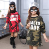 Girls Camouflage Plus Velvet Thickening Girls Bottoming Sweater